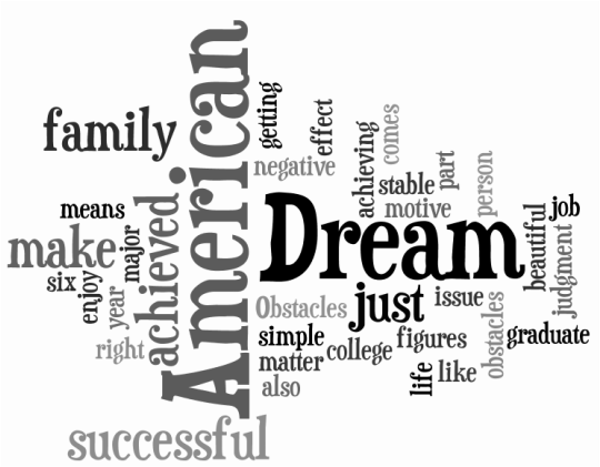 essays about the obstacles of to achieve american dream